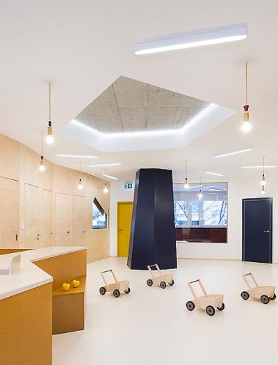 Kindertagesstätte in Prag von No Architects