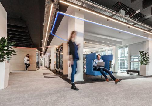 Neugestaltung eines Büros in Köln 01