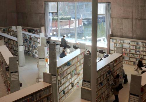 Neue Stadtbibliothek in Matsubara 05