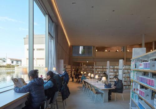 Neue Stadtbibliothek in Matsubara 06