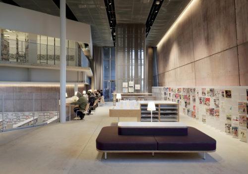 Neue Stadtbibliothek in Matsubara 08