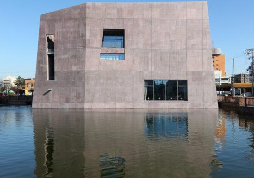 Neue Stadtbibliothek in Matsubara 14