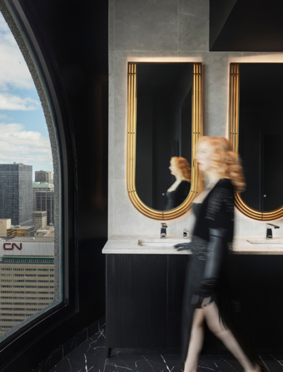 Hotel in Montreal von Sid Lee Architecture