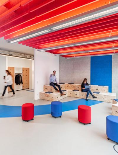 Neugestaltung eines Büros in Köln von if5 design