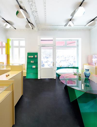 Concept Store in Berlin von Gonzalez Haase AAS