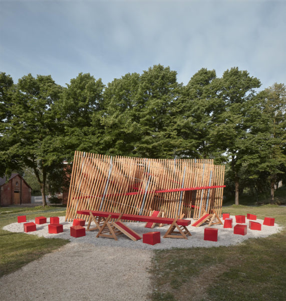 Installation auf der Architekturbiennale Venedig 01
