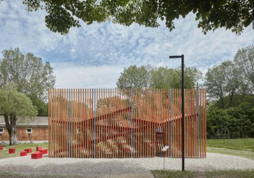 Installation auf der Architekturbiennale Venedig 02