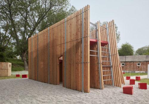 Installation auf der Architekturbiennale Venedig 03