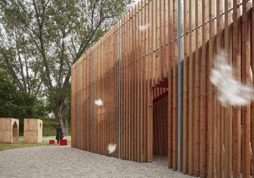 Installation auf der Architekturbiennale Venedig 04