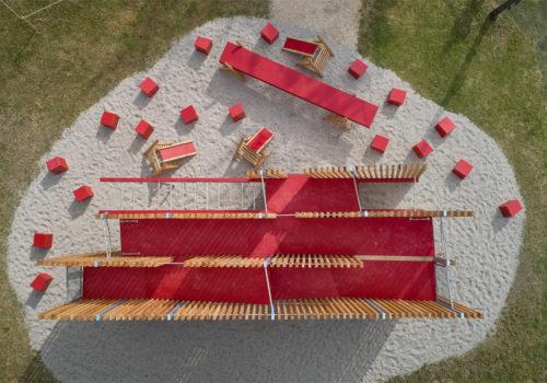 Installation auf der Architekturbiennale Venedig 07