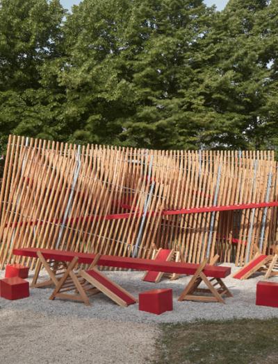 Installation auf der Architekturbiennale Venedig 2021 von Matěj Hájek und Tereza Kučerová