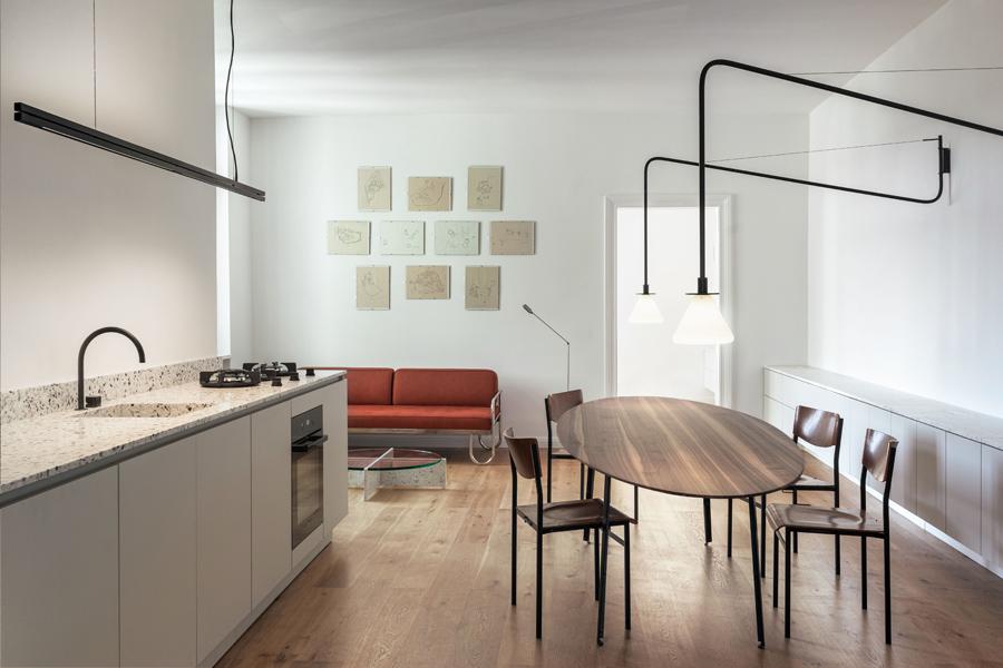 Apartment in Berlin von Studio Loes