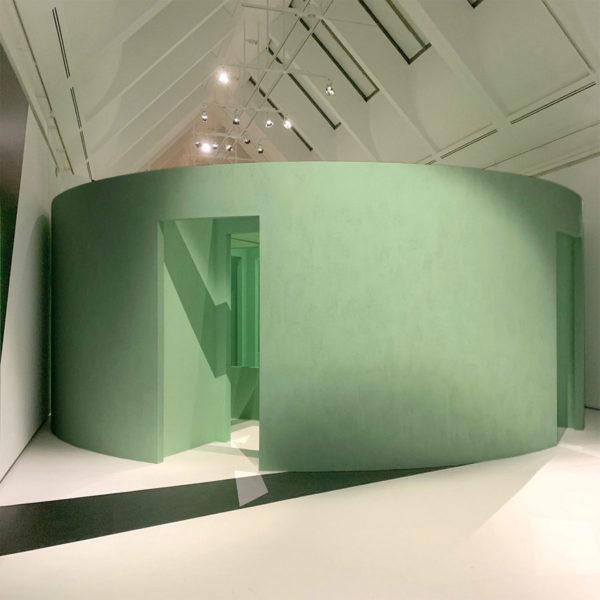 Installation in der Schirn Kunsthalle Frankfurt 01