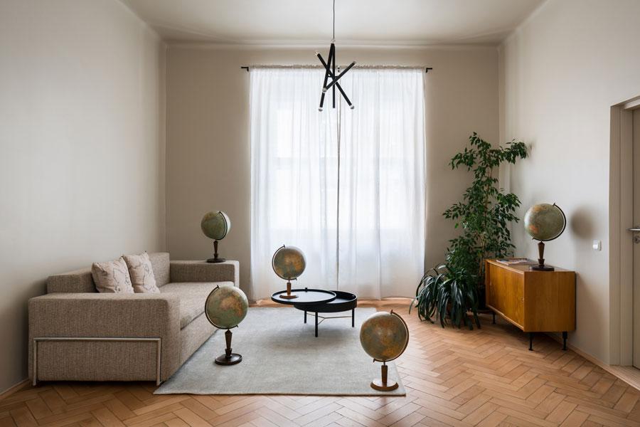 Apartment in Prag von alepreda architecture