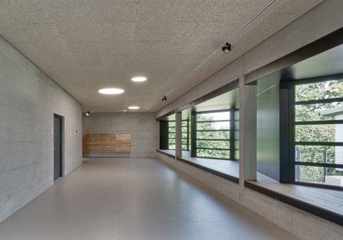Sanierung eines Schulgebäudesin Mengen 05