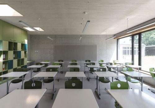 Sanierung eines Schulgebäudesin Mengen 08