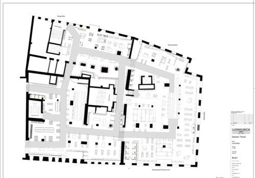 Umgestaltung des Department Stores Ludwig Beck 11