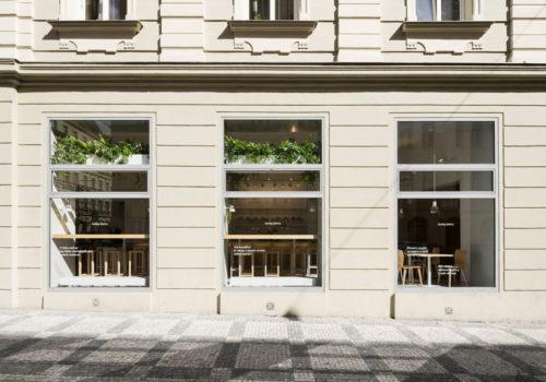 Bistro in Prag 10