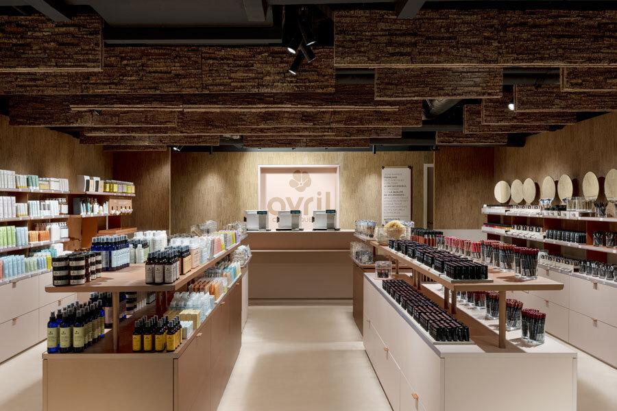 Kosmetikstore in Paris von Atelier du Pont