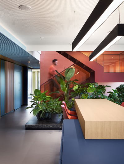 Büro in Reutlingen von Ippolito Fleitz Group