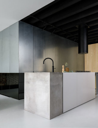 Apartment in Amsterdam von Firm Architects