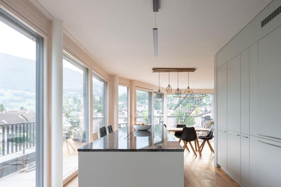 Mehrfamilienhaus in Sargans von Apropos Architects