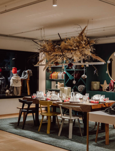 Concept Store in Leogang von a2 architektur und Gruschwitz