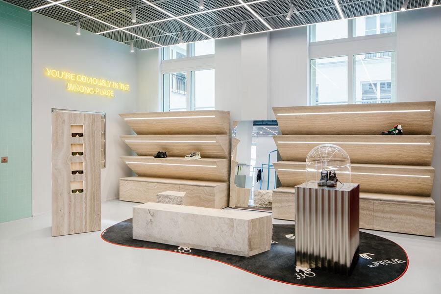 Off-White Flagship-Store in Paris von Ellen van Loon / OMA