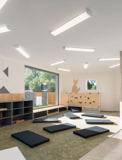 Montessori Kindergarten in Klecany von No Architects