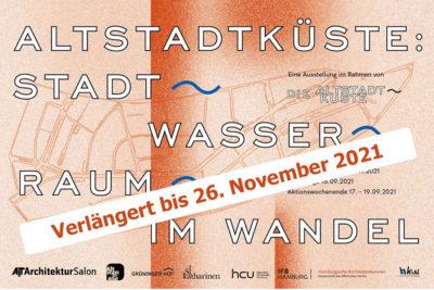 Altstadtküste: Stadt, Raum, Wasser im Wandel – Ausstellung im AIT-ArchitekturSalon Hamburg