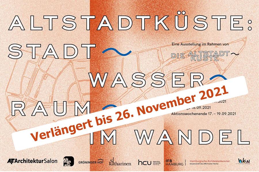 Altstadtküste: Stadt, Raum, Wasser im Wandel - Ausstellung im AIT-ArchitekturSalon Hamburg