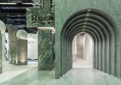Messestand für Roca Tile 03