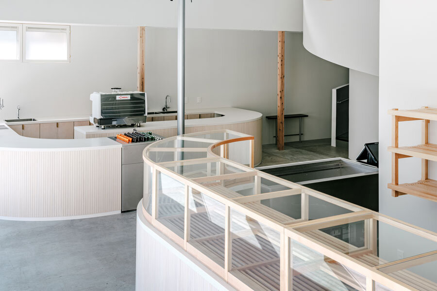 Take Bakery and Café in Kanoya von Hiroyuki Tanaka Architects