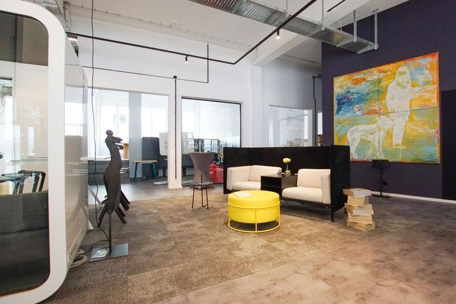 Büroräume und Co-Working-Space in Nürnberg