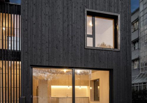 Wohnhaus in Zürich 10