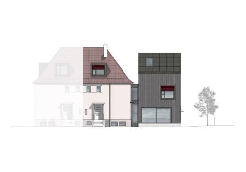 Wohnhaus in Zürich 13