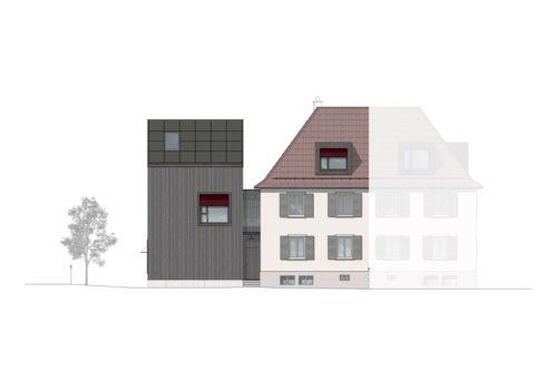 Wohnhaus in Zürich 14