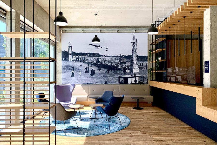Gesundheits- und Therapiezentrum in Berlin von Susanne Kaiser Architektur & Interiordesign