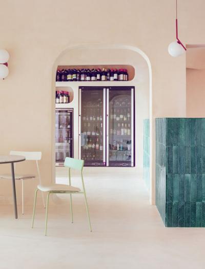 Restaurant in Porto Cervo von Studio Wok
