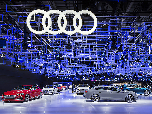 Audi Messestand 01