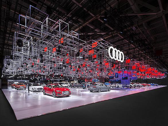 Audi-Messestand in Paris von SCHMIDHUBER – AIT   xia   AIT ...