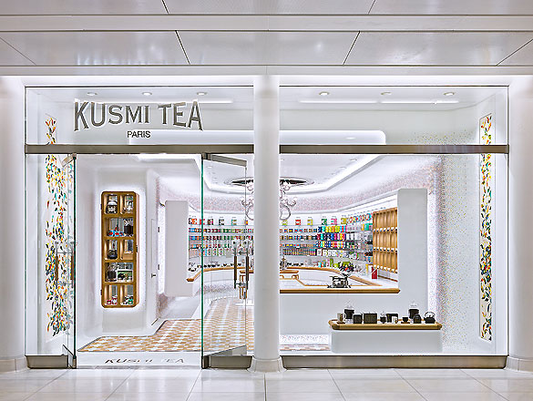 kusmi tea store in new york von christopher jenner ait xia ait dialog. Black Bedroom Furniture Sets. Home Design Ideas