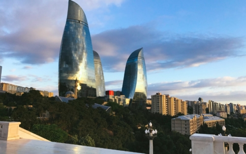 HG Esch: Postcard from Baku!