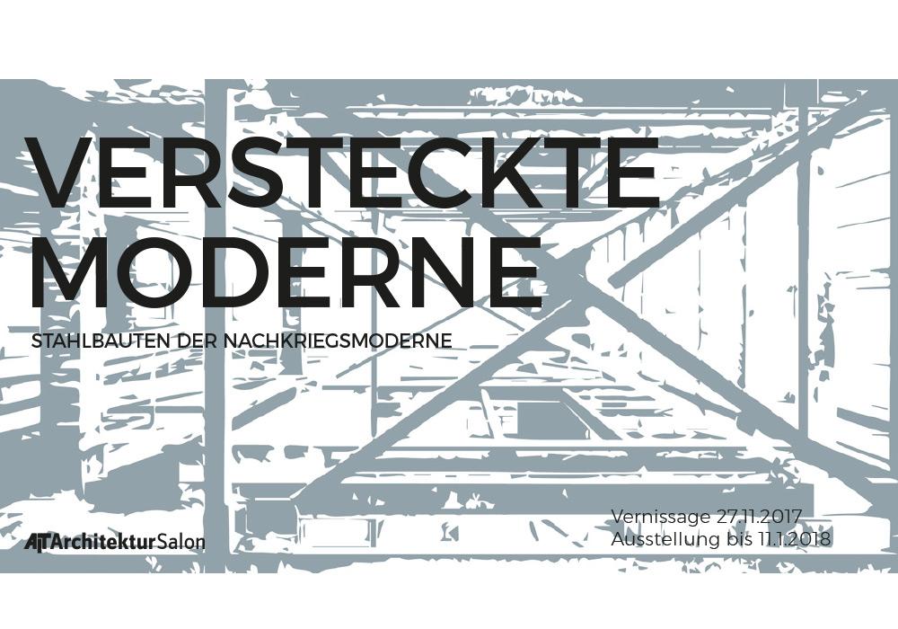VERSTECKTE MODERNE – Austellung im AIT-ArchitekturSalon ...