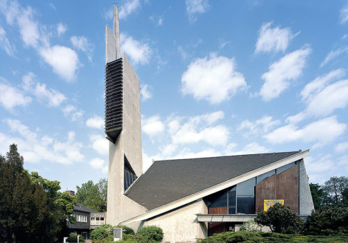 Paul-Gerhardt-Kirche in Berlin-Schöneberg, Foto: Rainer Gollmer