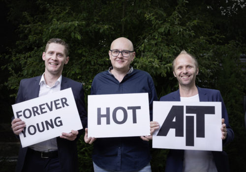 Erasmus Stillner, Raphael Pohland (MvonH) und Ole Hempel (GKT)
