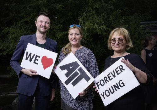 Panzeri-Team: Michael Sarreiter, Susanne Karrer und Anne Leitner