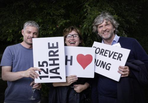 Markus Jehs (jehs + laub), Silvia Olp (aed) und Stefan Hoske (hansgrohe)