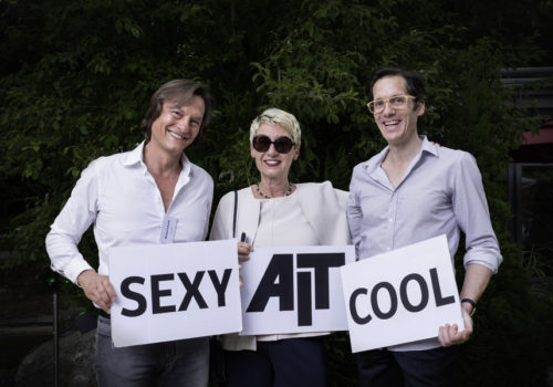 Michael Schmidt (code2design), Petra Stephan (AIT) und Jan Theissen (amunt)