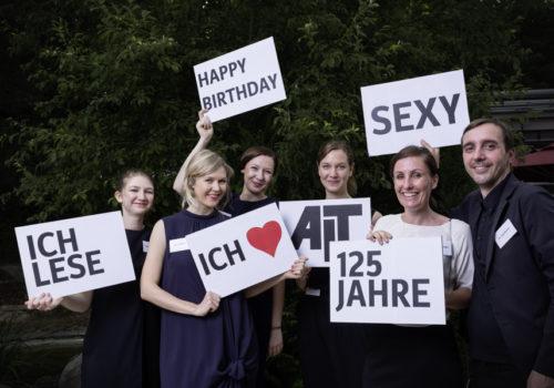 AIT: Marlene Asenbeck, Regina Schubert, Henriette Steuer, Désirée Spoden, Christine Schröder und Uwe Bresan